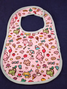 Sweets and Animals Bib - myabdlsupplies