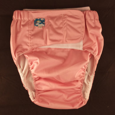 Pink Eco Pocket Diaper L