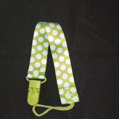 PACIFIER CLIP GREEN - myabdlsupplies