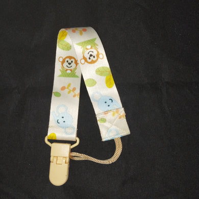 PACIFIER CLIP JUNGLE - myabdlsupplies