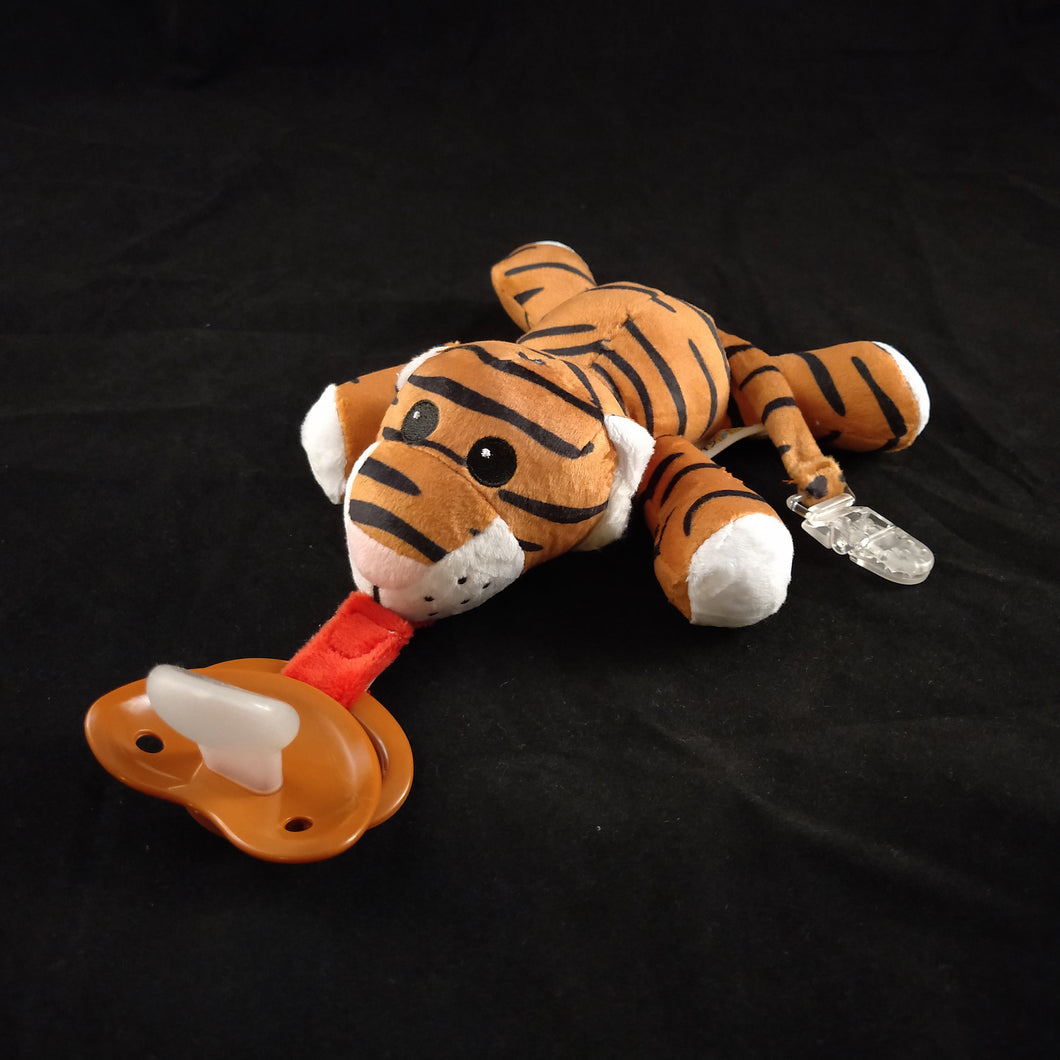 TIGER PACIFIER HOLDER