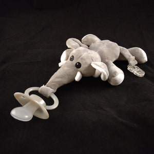 ELEPHANT PACIFIER HOLDER