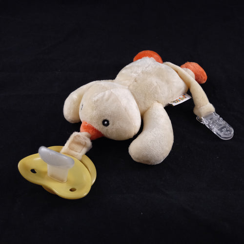 DUCK PACIFIER HOLDER