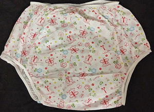 Butterfly Plastic Pants MED - myabdlsupplies