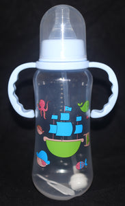 Blue Bottle / Sippy Cup with Strawer - myabdlsupplies