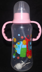 PInk Bottle / Sippy Cup with Strawer - myabdlsupplies