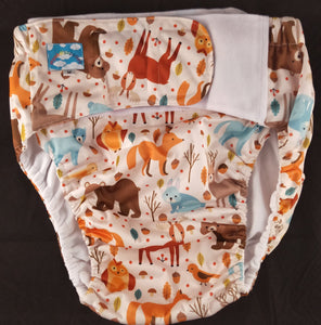 Forest Critter Eco Pocket Diaper M - myabdlsupplies