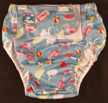 Summertime Fun Modern Washable Diaper MED - myabdlsupplies