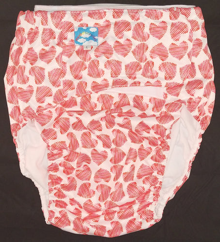 Love Hearts Modern Washable Diaper LRG - myabdlsupplies
