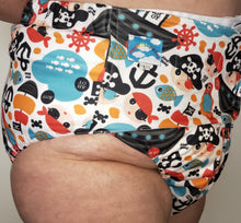 Pirates Eco Pocket Diaper L - myabdlsupplies