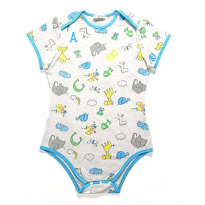 Giraffe and Zoo Animals Onesie Bodysuit 2XL - myabdlsupplies