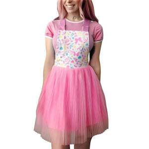Confetti Princess Overall Skirt SML COMING SOON - myabdlsupplies