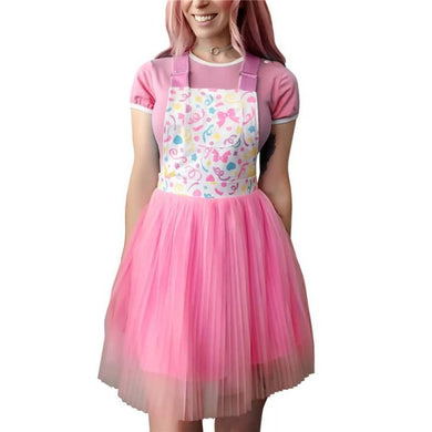 Confetti Princess Overall Skirt 3XL - myabdlsupplies