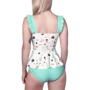 Vintage Sweets Swimsuit 2XL - myabdlsupplies