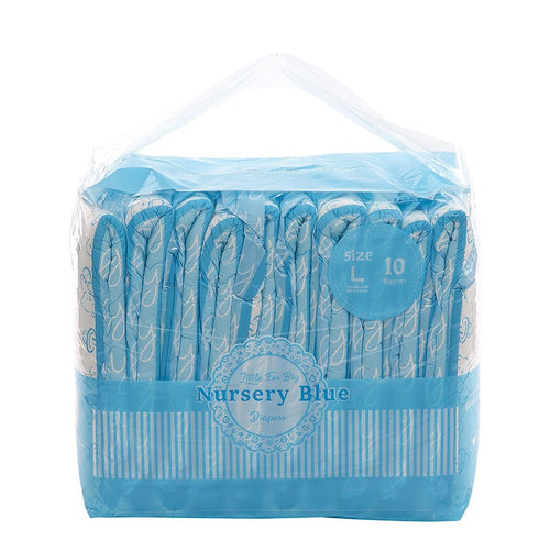 LittleForBig Nursery Print Blue Large Pack