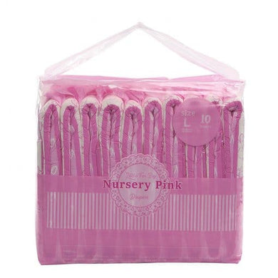 LittleForBig Nursery Print Pink Large Pack