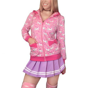 Unicorn Pattern Sweetheart Jacket LRG - myabdlsupplies