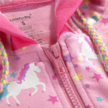 Unicorn Pattern Sweetheart Jacket SML - myabdlsupplies