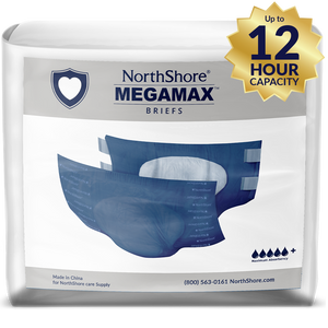 NorthShore MEGAMAX BLUE MEDIUM PACK - myabdlsupplies