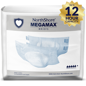 NorthShore MEGAMAX WHITE SMALL PACK - myabdlsupplies