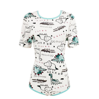 DINOSAUR ONESIE MEDIUM - myabdlsupplies