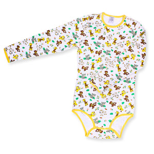 Long Sleeve Safari Onesie MED