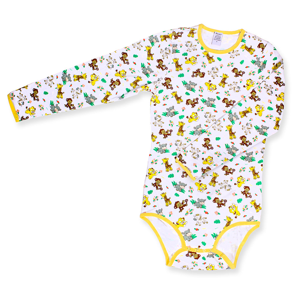 Long Sleeve Safari Onesie LRG - myabdlsupplies