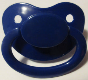 Dark Blue Pacifier