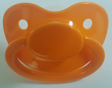Orange Pacifier - myabdlsupplies