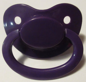 PACIFIER DEEP PURPLE - myabdlsupplies