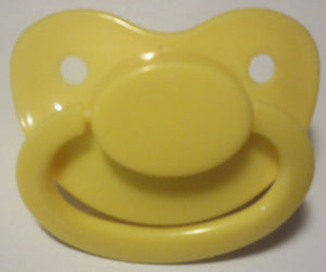 Yellow Pacifier - myabdlsupplies