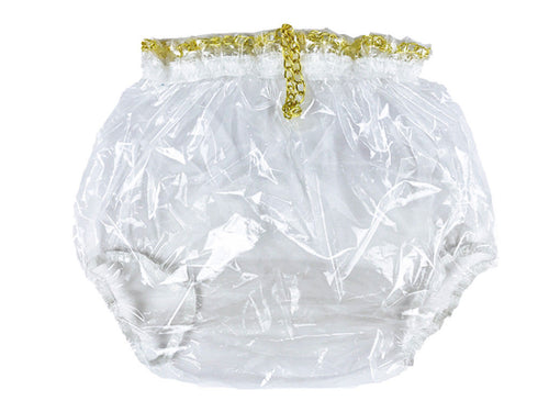 Clear Locking Plastic Pants MED - myabdlsupplies