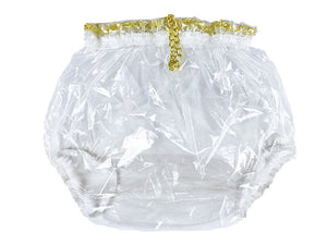 Clear Locking Plastic Pants XL