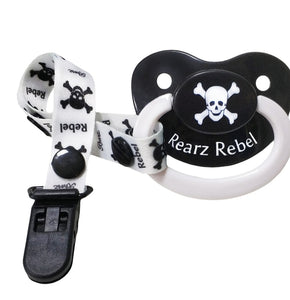Rebel Pacifier and Clip - myabdlsupplies