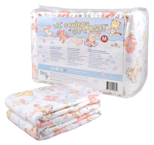 Rearz Lil Squirts Diapers Pack - Splash V2 XLG - myabdlsupplies