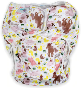Barnyard Adult Swim Diaper - myabdlsupplies
