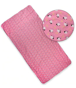 Jumbo Waterproof Incontinence Bed Pad - Pink Sheep - myabdlsupplies