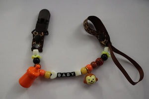 Pacifier Clip Monkey - myabdlsupplies
