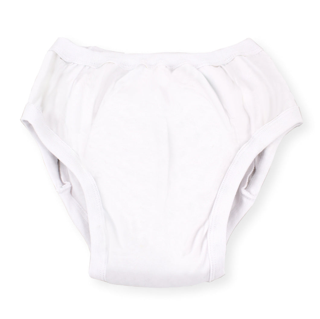 Adult Training Pants - White MED - myabdlsupplies