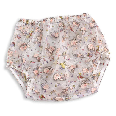 Baby Print Plastic Pants MED - myabdlsupplies