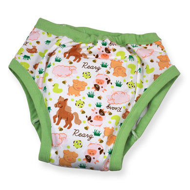 REARZ TRAINING PANTS BARNYARD MED - myabdlsupplies
