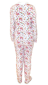 Lil Bella Adult Footed Jammies 4XL - myabdlsupplies