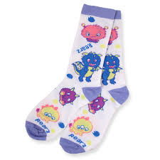lil monsters crew socks