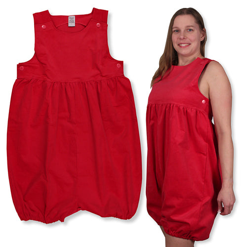 Cherry Adult Baby Romper XLG