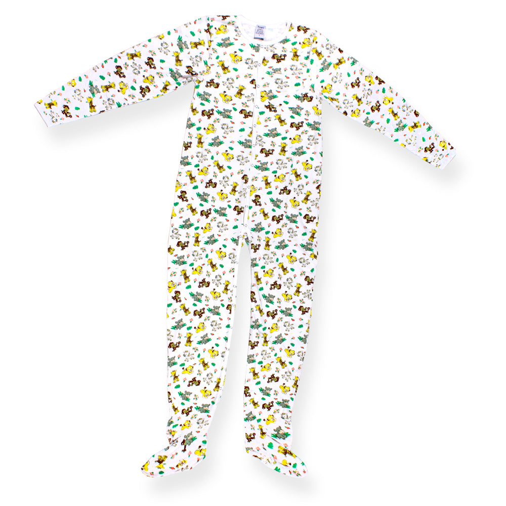 Safari Jammies LRG - myabdlsupplies