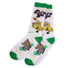 Safari Crew Socks