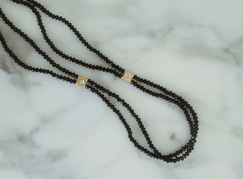 Opaque Double-String Waist Beads