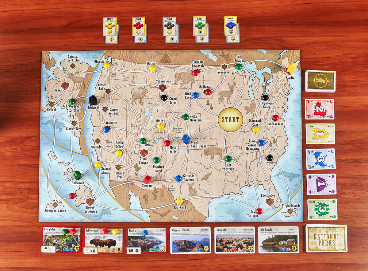 Trekking The National Parks: <p></p>The Family Board Game (2nd Edition)