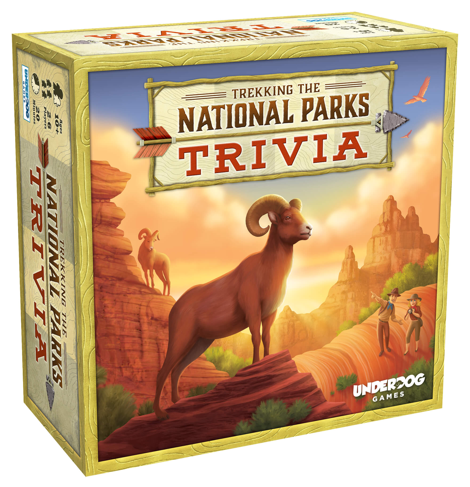 Trekking The National Parks: <p></p>The Family Trivia Game