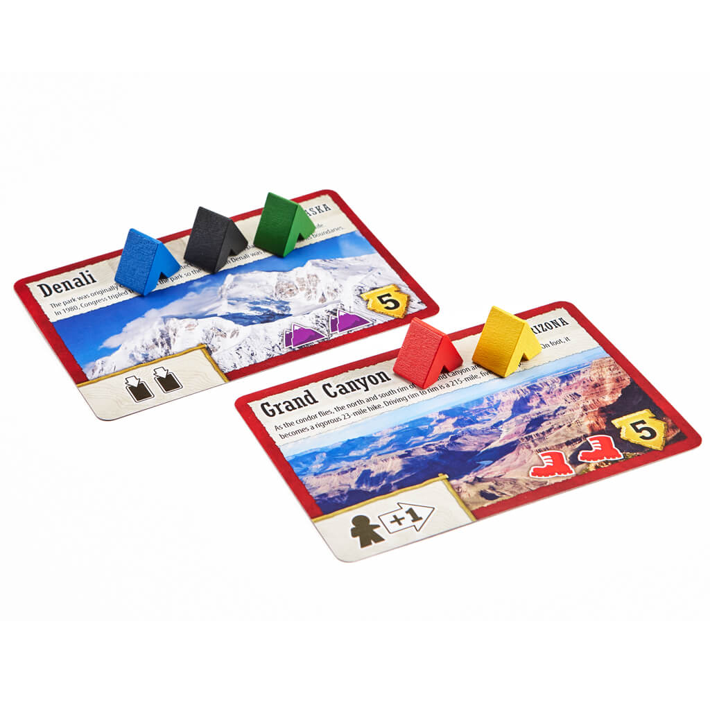 Trekking the National Parks: The Board Game (Second Edition)